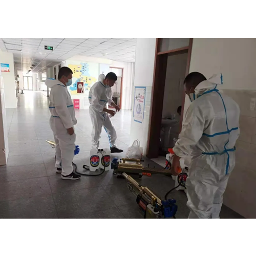 Comprehensive Disinfection And Sterilization To Ensure The Smooth Start Of School