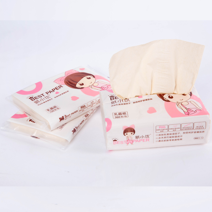 Baby Sofy Tissue Paper with Moisturizing Factors