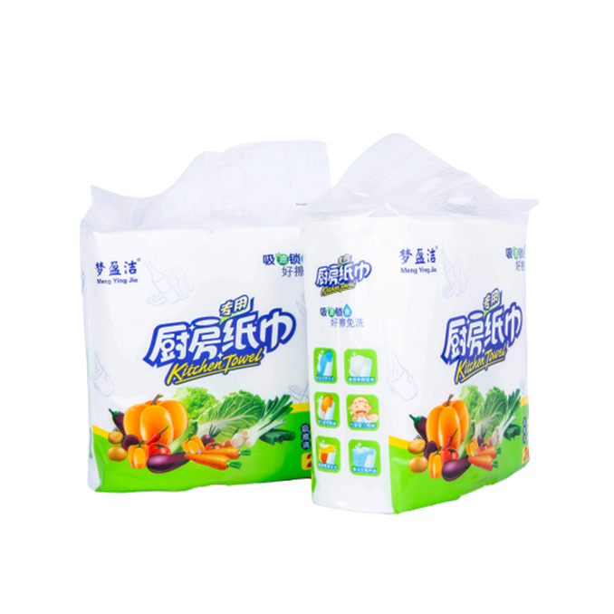 Cleaning Jumbo Kitchen Paper Towel Wholesale Disposable 2 Ply Kitchen Tissue Rolls/Kitchen Paper