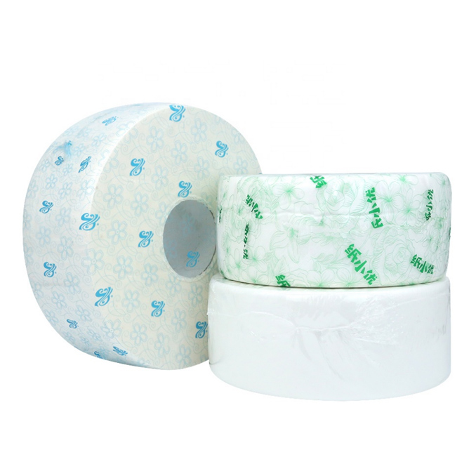 Jumbo Roll Bamboo 2 Ply Toilet Paper Bathroom Tissue Toilet Paper Made in China