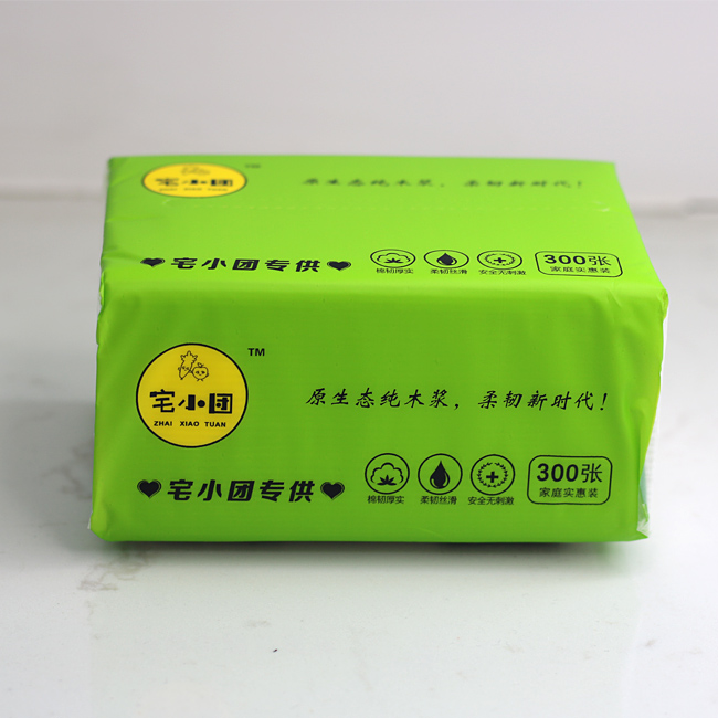 OEM Daily Use Tissues Towel Soft Pack Facial Tissue Paper