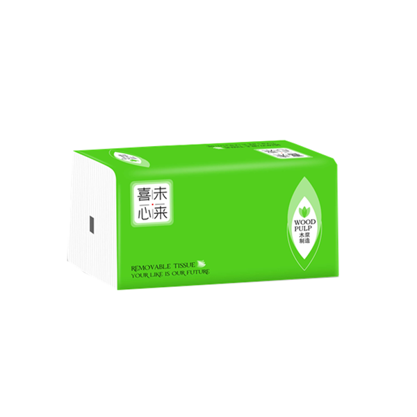 Promotion Box Facial Tissue 3Ply Wood Pulp 150 Sheets