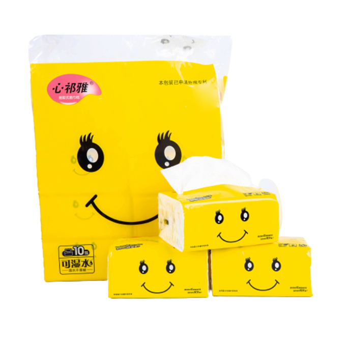 Standard Soft White 3 Ply Facial Tissue with Cheap Price