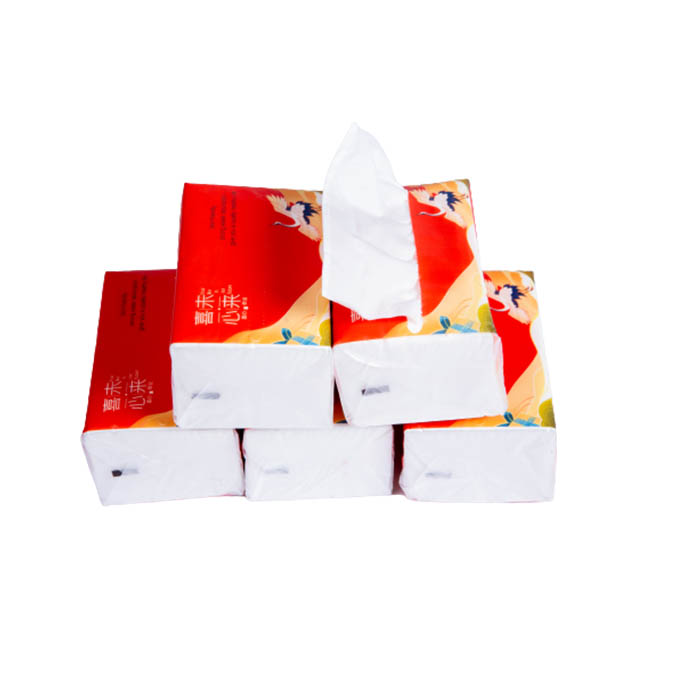 Virgin Wood Pulp 3ply Hand Facial Tissue with 3D Embossing